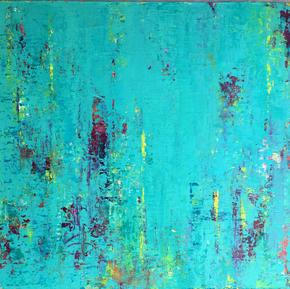 Colores de verano 2, 40 x 40, $ 4800 sin