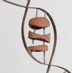 DNA sculpture detail