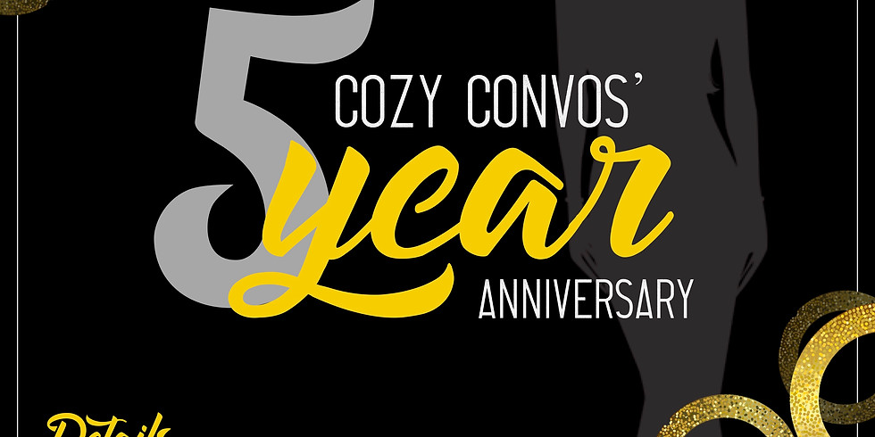 Cozy Convos 5 Year Anniversary Celebration!