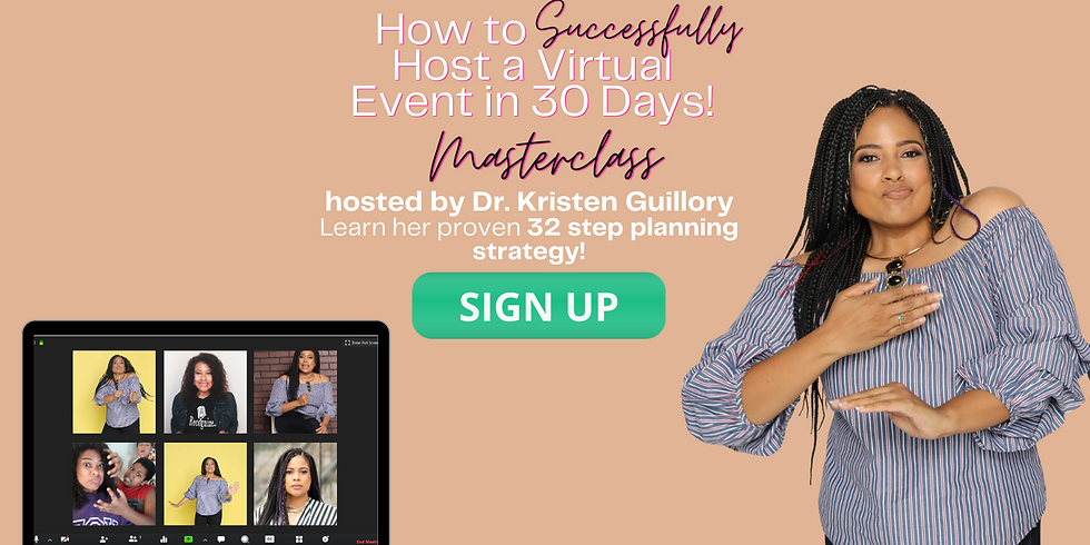Host your Virtual Event in 30 days!