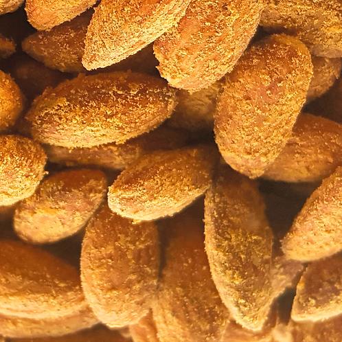 Hickory Smoked Cheddar Almonds 6 oz