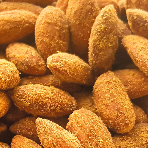Ghost Pepper Hickory Smoked Cheddar Almonds 6 oz
