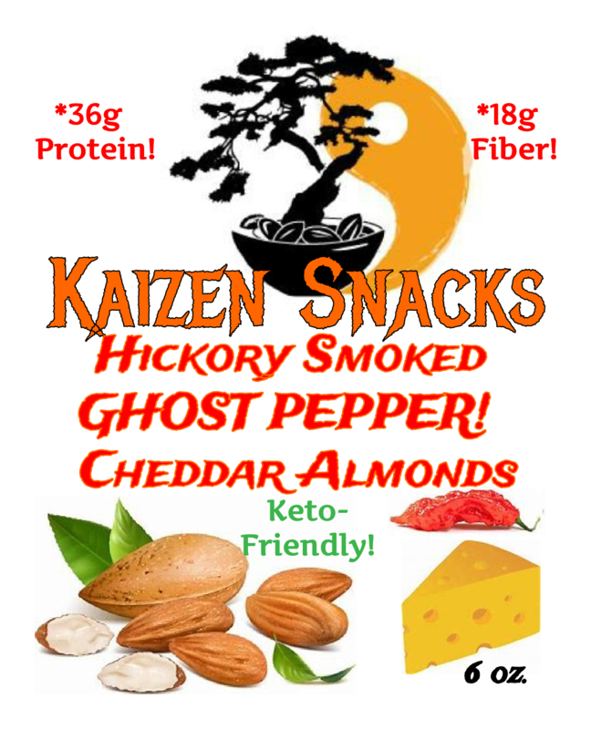 Hickory Smoked Ghost Pepper Cheddar Almonds