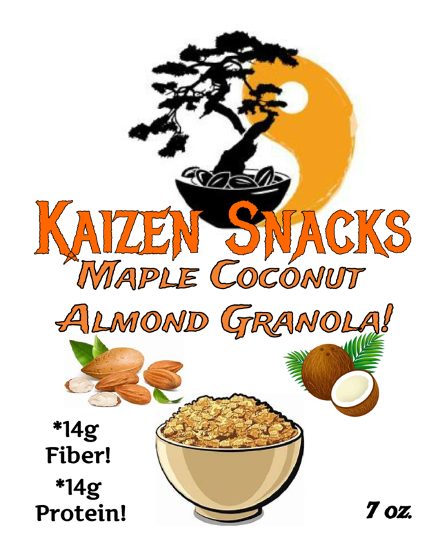 Maple Coconut Almond Granola