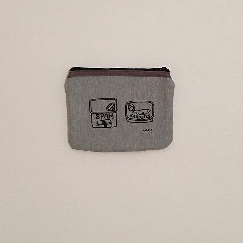 缶詰スウェットポーチ(大)