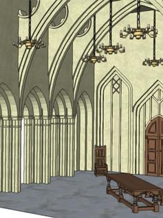 English Gothic Architecture (Digital Rendering)