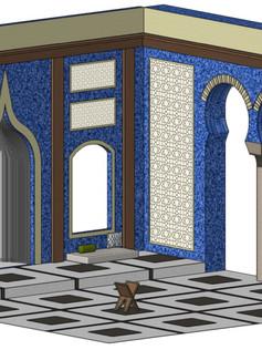 Islamic Architecture (Digital Rendering)