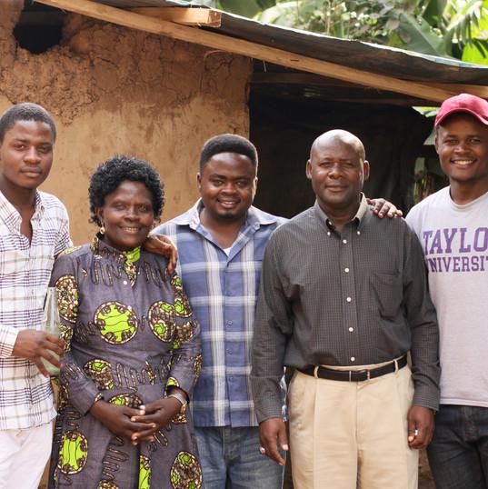 Bishop Nshimiyimana & Family