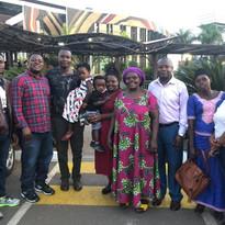 Archbishop Nshimiyimana & Family