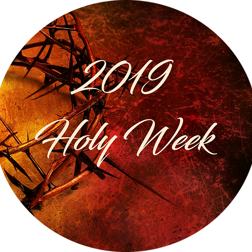041919 Holy Week-The Suffering Servant