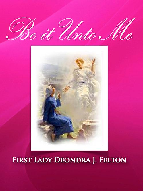 Be it unto Me (DVD)