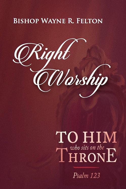 Right Worship(CD)