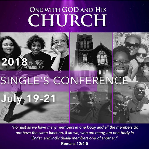 2018 Single's Conference DVD