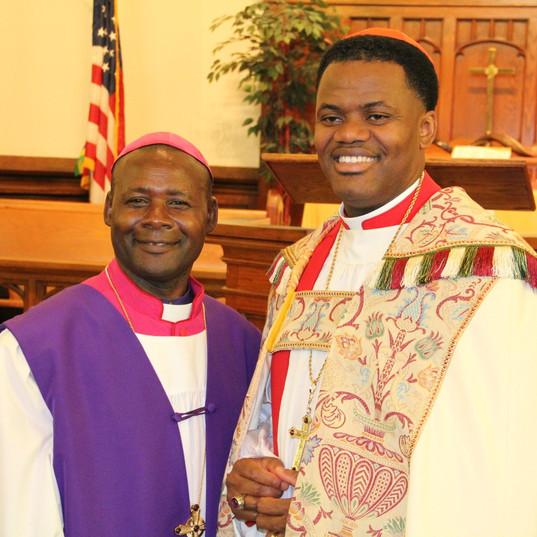 2015 ICA Bishop Nshimiyimana & Archbishop Felton