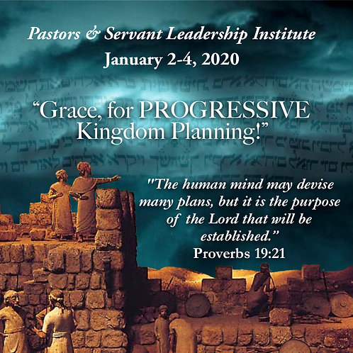 2020 Pastors & Servant Leadership Institute