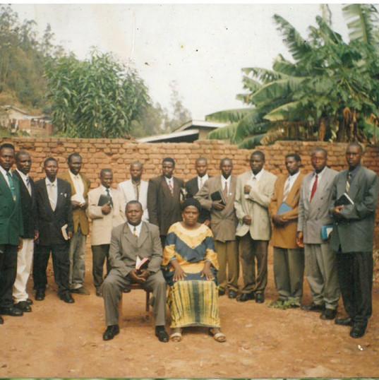 Bishop Nshimiyimana & Pastors  Rwanda