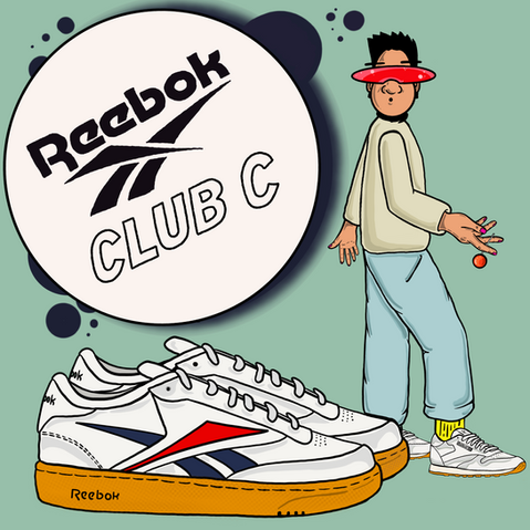 REEBOK(CLUB-C) x K.P