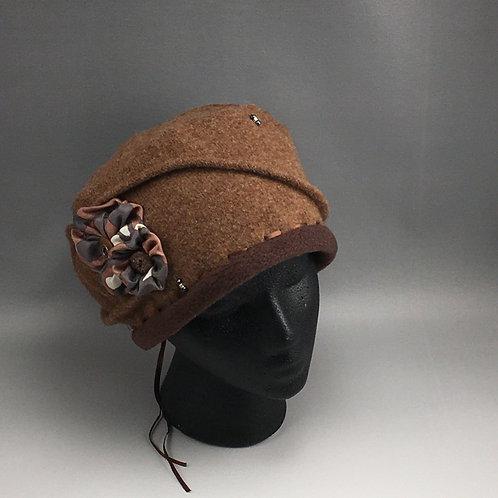 Cashmere Pillbox Hat