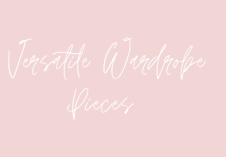 Versatile Wardrobe Pieces