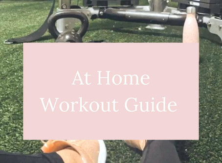 At Home Workout Guide