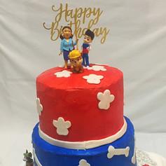 Paw Patrol theme cake