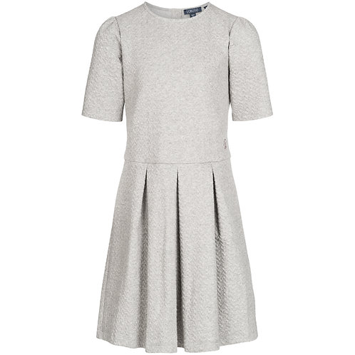 Box pleated dress