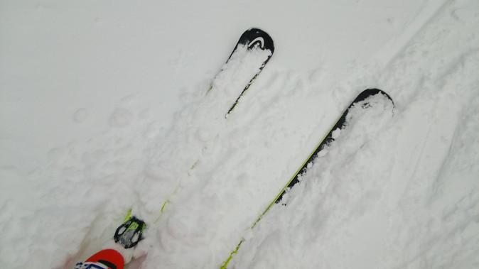 今日も雪が降り続いていますよ!
