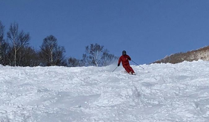 連日で今シーズン一番の雪