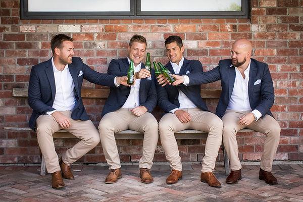 Groom at The Britten Stables Wedding Planner Christchurch