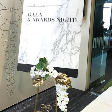 marble-design-welcome-board-corporate-ev