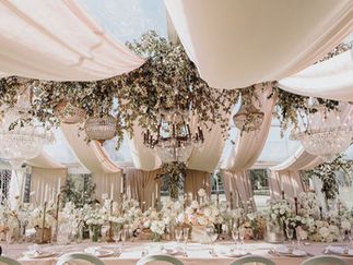 7 Wedding Colour Trends I'm loving...for Styling weddings in 2021/22.