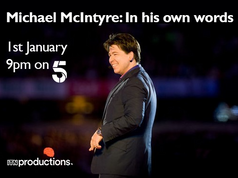 Lady Colin Campbell was on the Michael McIntyre show, 1st January on Channel 5.