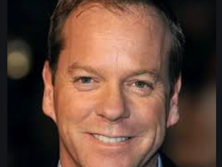 A Synonym For Magnificent?  Kiefer Sutherland.