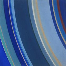 Iris Maria Nitzl-Space debris-2018-Acryl