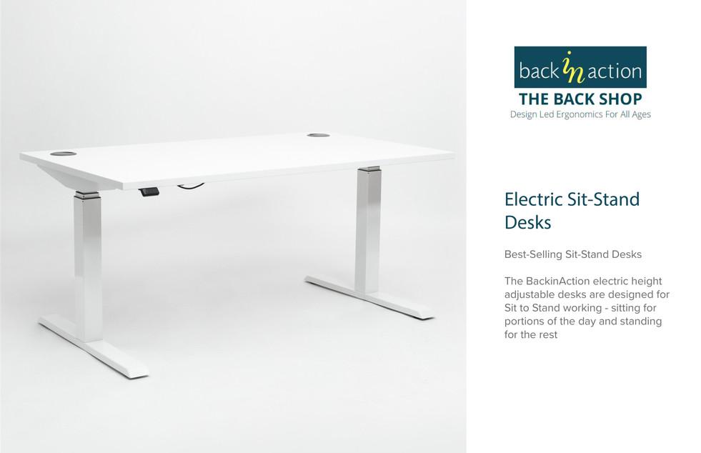 Back in Action - Adjustable Desk