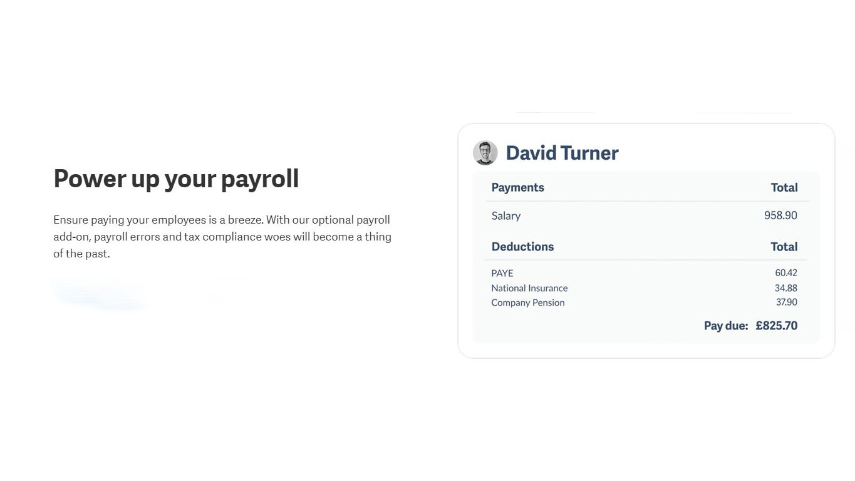 Sage - Payroll