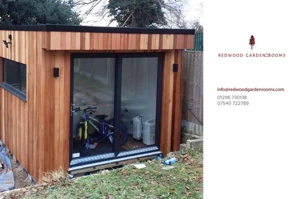 Redwood Garden Rooms - The Cube