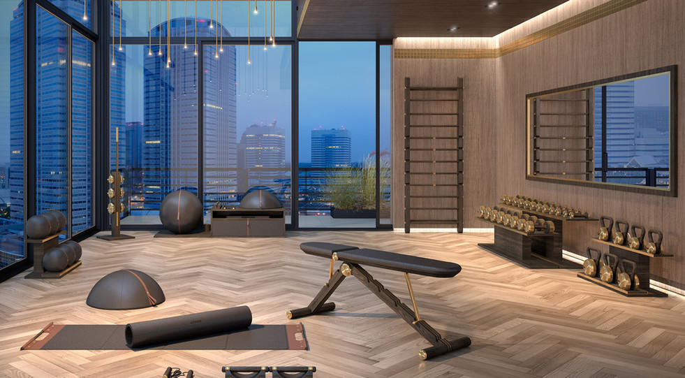 Luxury Hand Crafted Gym Equipment