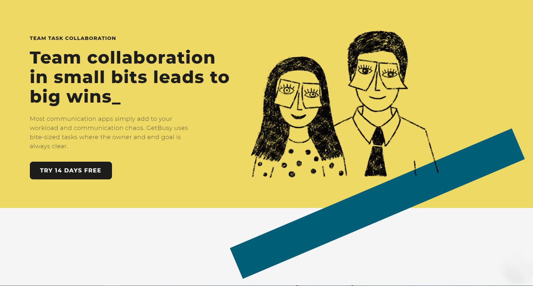 Team collaboration in small bits leades