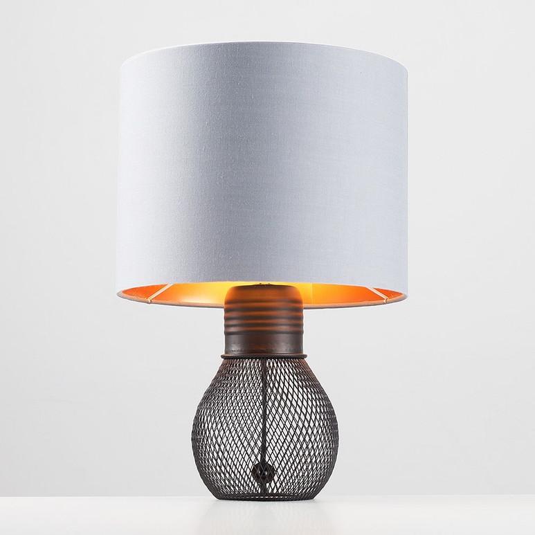 HIRAM BLACK TABLE LAMP