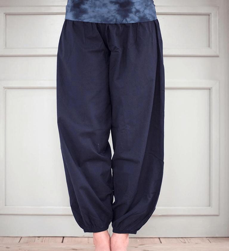 Bubble Organic Harem Yoga Pants -Cropped