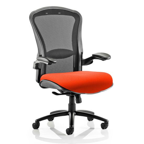 Houston Heavy Black Back Office Chair