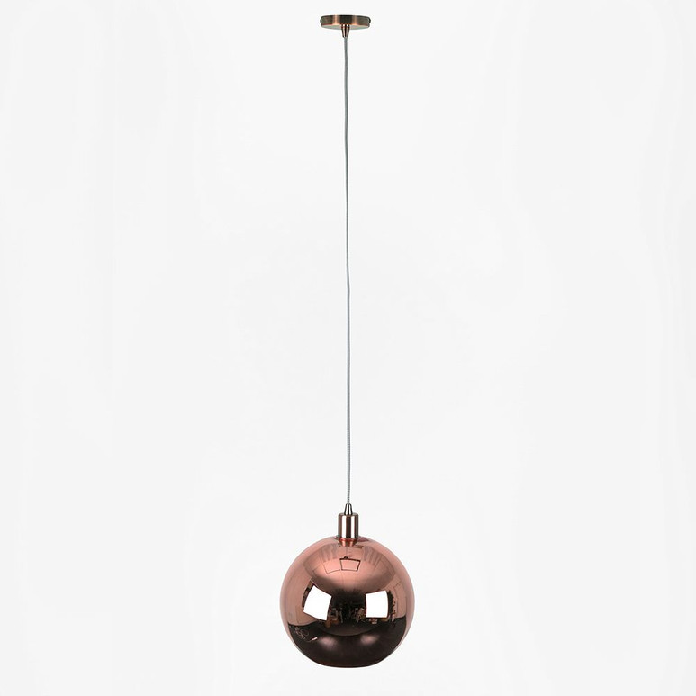 LAMPHOLDER IN COPPER WITH COPPER SHADE