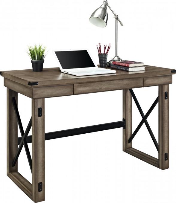 Dorel Wildwood Veneer home office desk