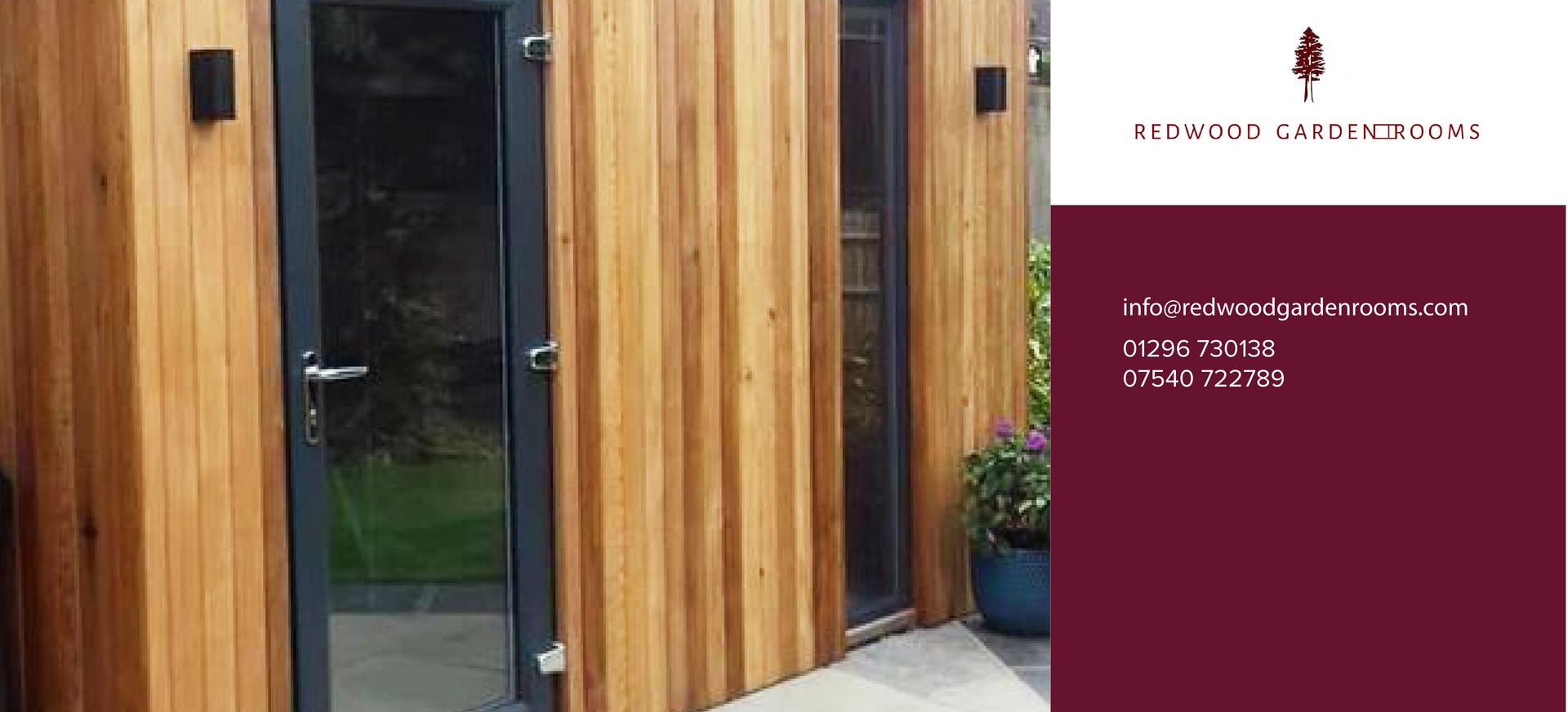 Redwood Garden Rooms - The Tool Shed