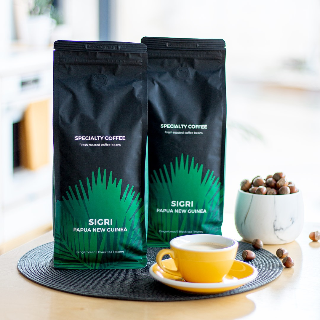 Specialty coffee beans Sigri