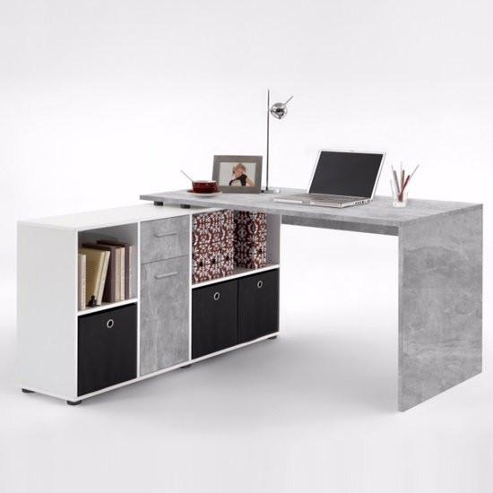 Flexi Modern Corner Computer Desk