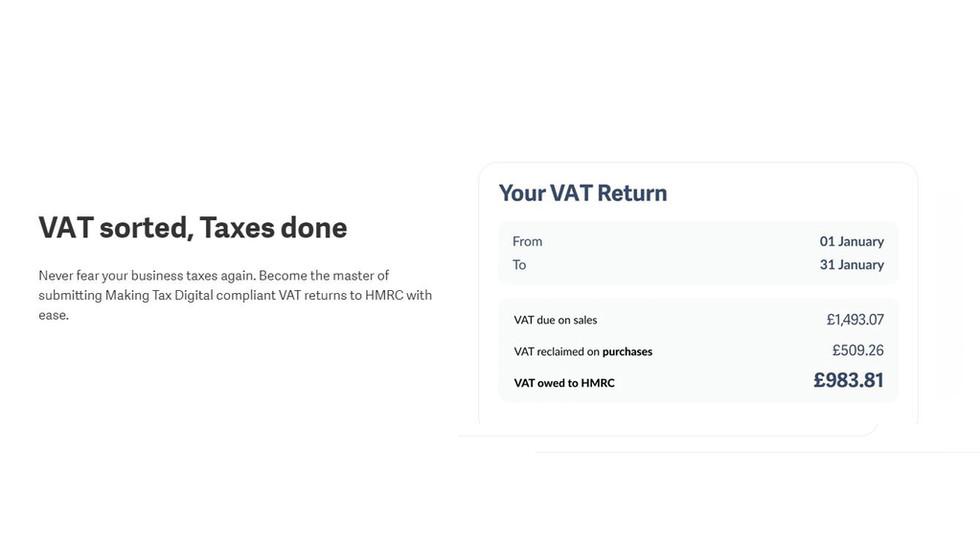 Sage - VAT