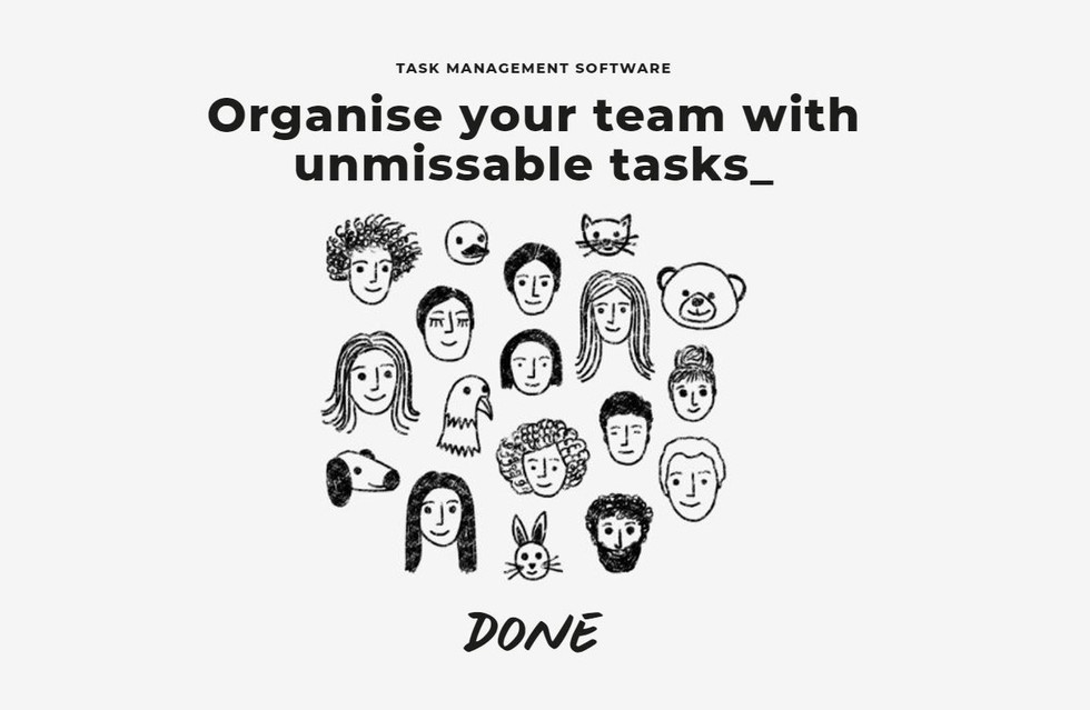 Organise your team with unmissable tasks