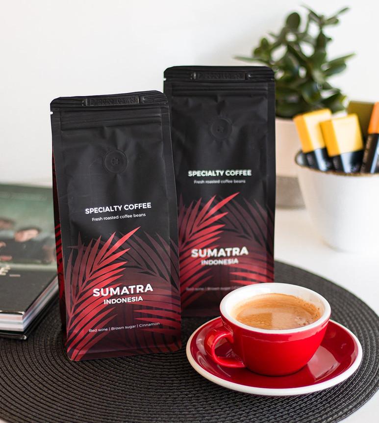 Sumatra specialty coffee